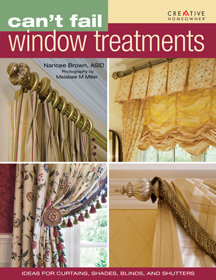 книга Can't Fail WIndow Treatments. Ideas for Curtains, Shades, Blinds, and Shutters, автор: Nancee Brown